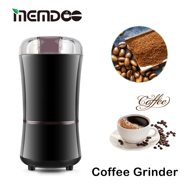 Coffee-Bean-Grinder Electric Stainless-Steel Bean-Nut with Blade MEMDOO 400W