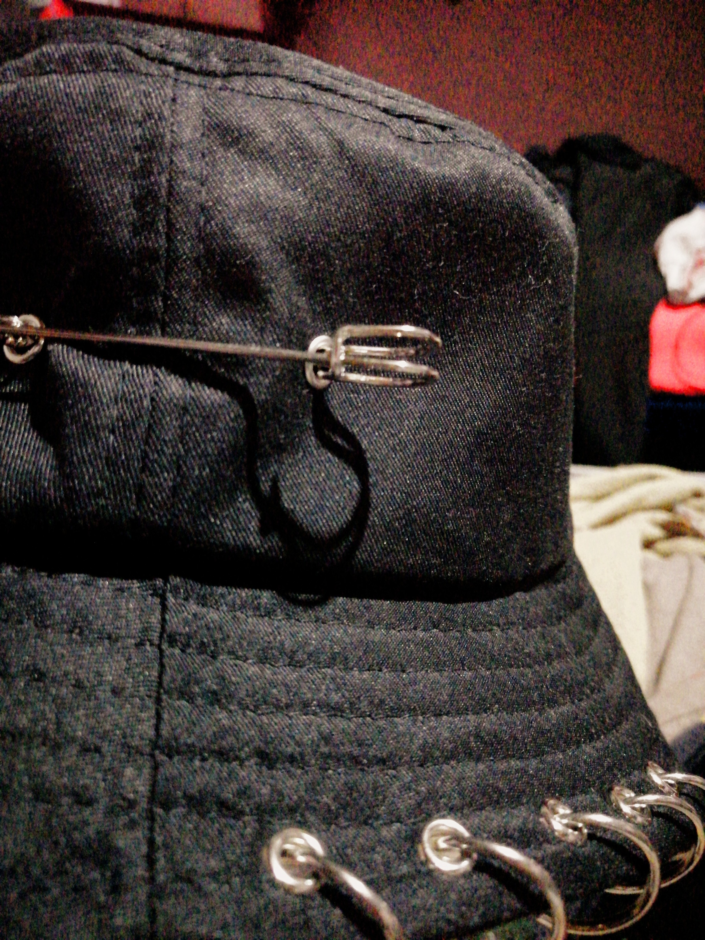 Bucket Hat with Pin Rings photo review