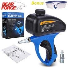 Hava kum Blaster silah kiti el taşınabilir pnömatik kasırga kumlama aşındırıcı nokta Blaster boya kaldırmak, leke, pas, kireç