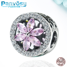 New Zircon Jewelry Making Sterling Silver 925 Bead Fit Pandora Charms Silver 925 Original Bracelet 2020 Charm Beads DIY For Gift цена 2017