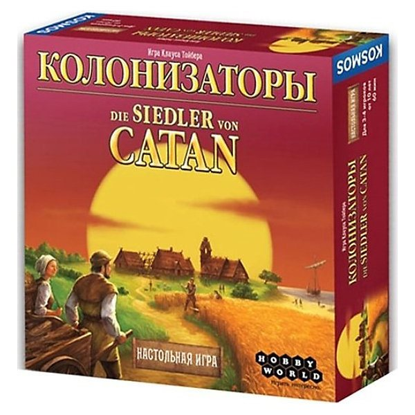 Board game Hobby World Colonizers, 4th edition