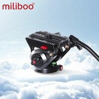 Miliboo MYT801 70 mm dimensioni ciotola Base piatta testa fluida sfera per treppiede fotocamera e supporto monopiede carico 10 kg