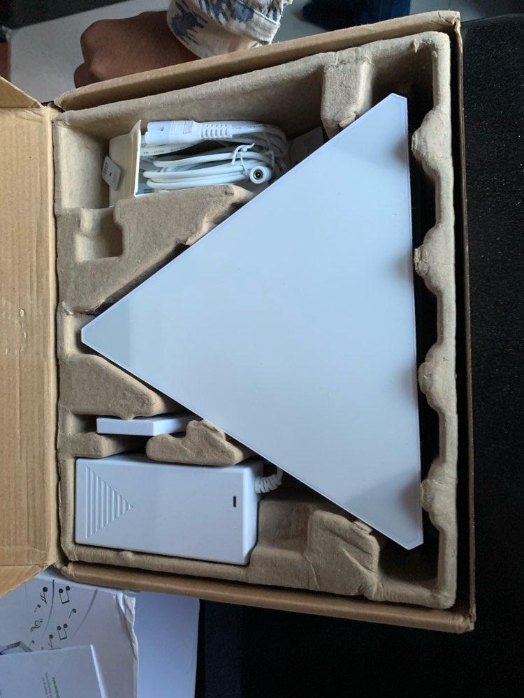Panneaux LED intelligents RGBW - Kit 9 pièces