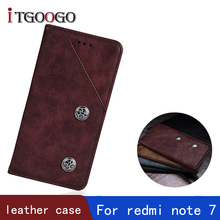 Get more info on the cover case for xiaomi redmi note 7 note7 case book flip leather shockproof magnet holder phone cover cases on redmi note 7