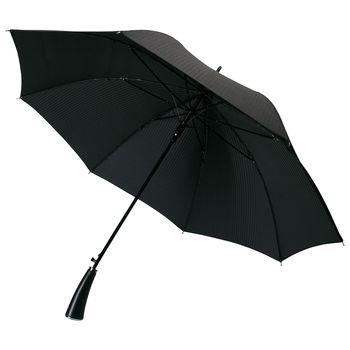 Umbrella-walking Stick With Invoice Cloth Ricardo, Black