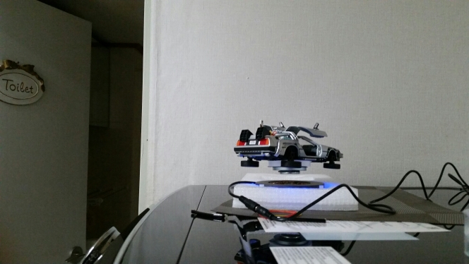 Miniatura Delorean de volta para o futuro II Coleção photo review