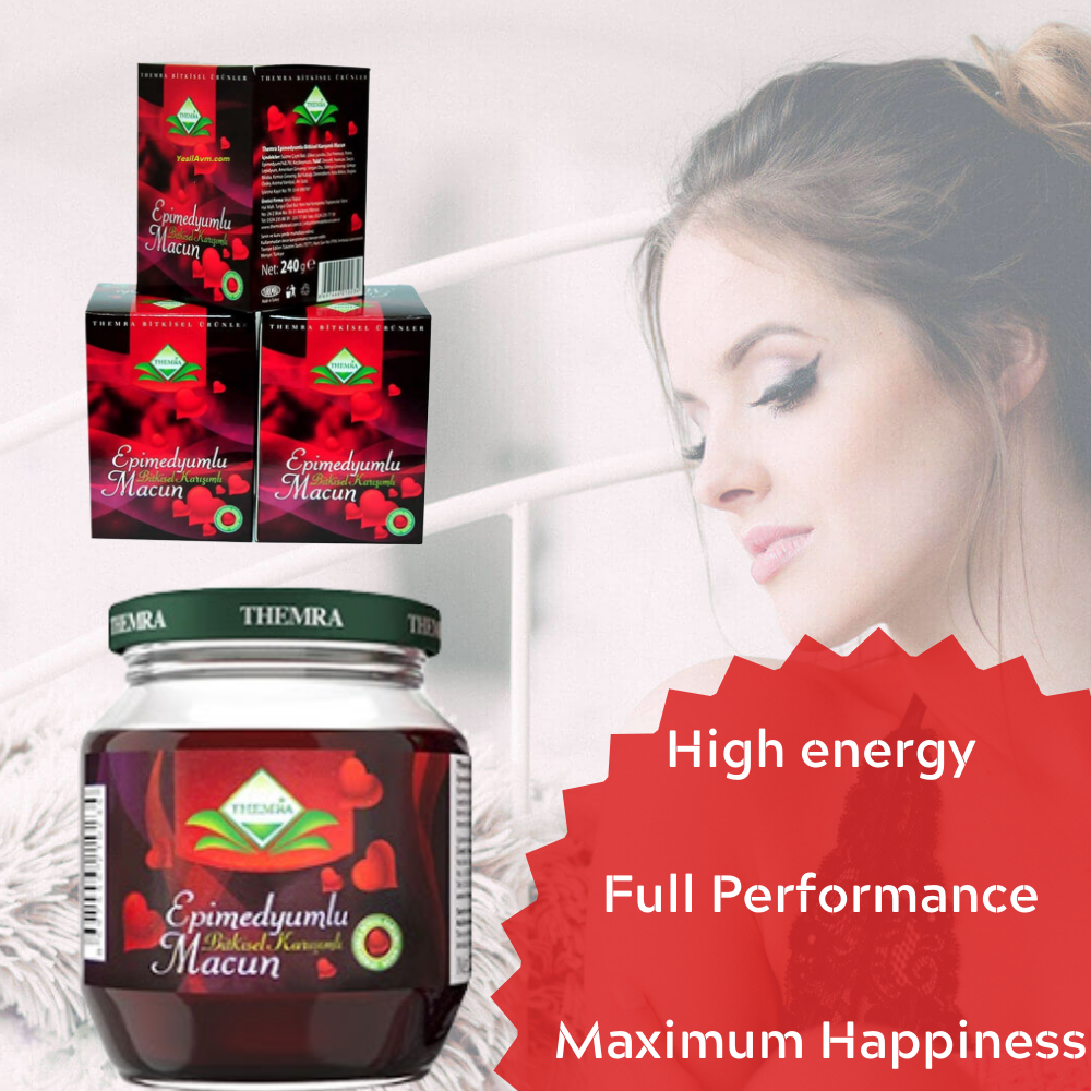 Turkish Epimedium Paste Ginseng Herbal Aphrodisiac,Erection For Men And Women,Male Power For Sex, Keep Sex Erection, Sex Proplem