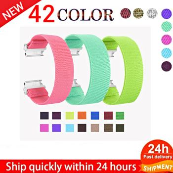 Watch Band Strap for Samsung Galaxy Elastic Nylon 46mm 40mm 44mm band 18mm 20mm 22mm active 2 Bracelet Wrist