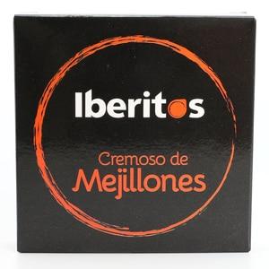 IBERITOS-кремовый консервированный мидий 140g-кремовый мидий складная коробка
