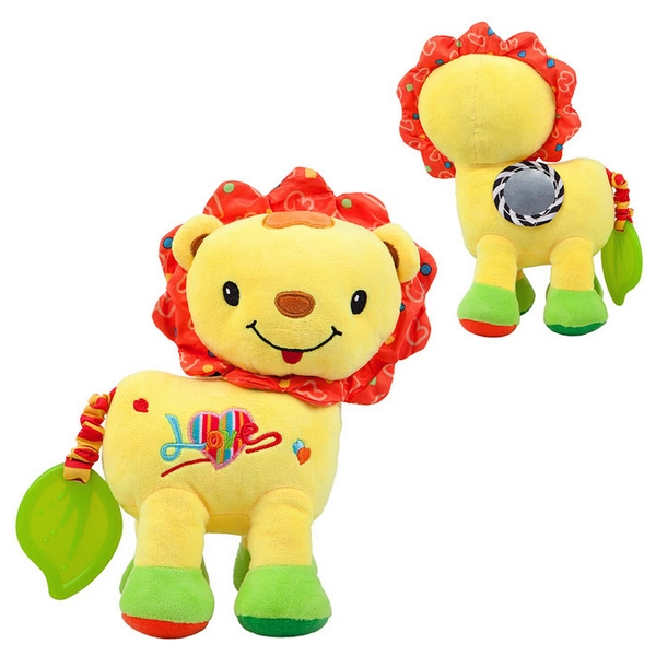 Activity Soft Toy For Babies Nenikos Lion +3m 112214