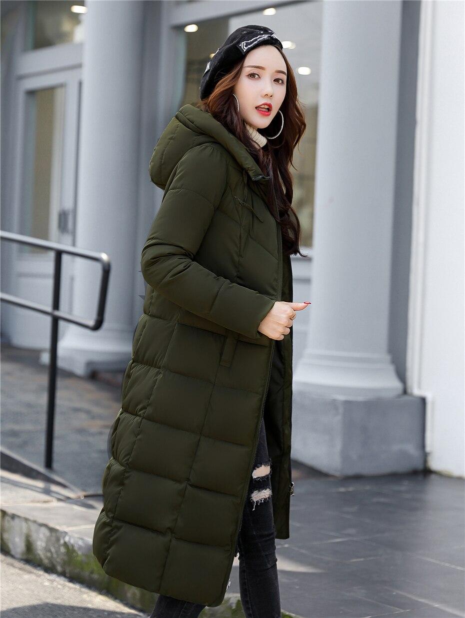 Dugujunyi 2019 Women Down Jacket Winter Coat Winter Parka Cotton Padded Jacket Woman Winter Jacket Coat