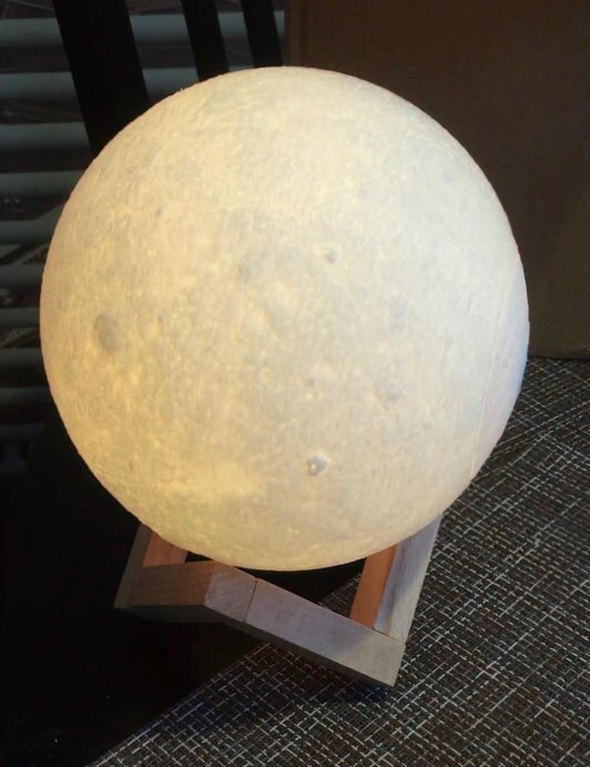 Ultimate Moon Lamp 15CM photo review
