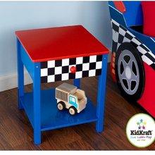 """Прикроватный столик """"Гоночная машина""""(Race Car Side Table) KidKraft(Кидкрафт"""