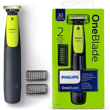 ORIGINAL Philips OneBlade QP2510 Electric Razor Shaver Rechargeable Waterproof Washable Removable Precision Beard Trimmer Mens