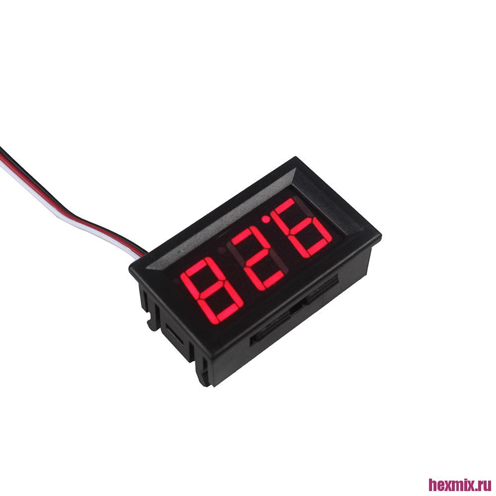 Digital Voltmeter DC 0-100 V