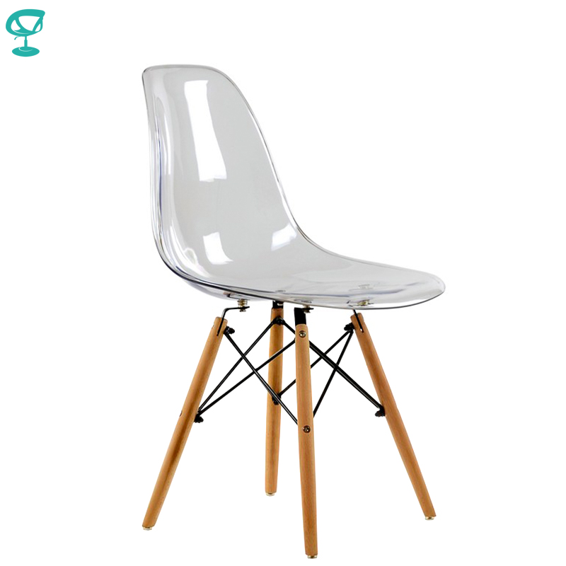 95219 Barneo N-12 Plastic Kitchen Breakfast Interior Stool Bar Chair Kitchen Furniture Transparent Free Shipping In Russia