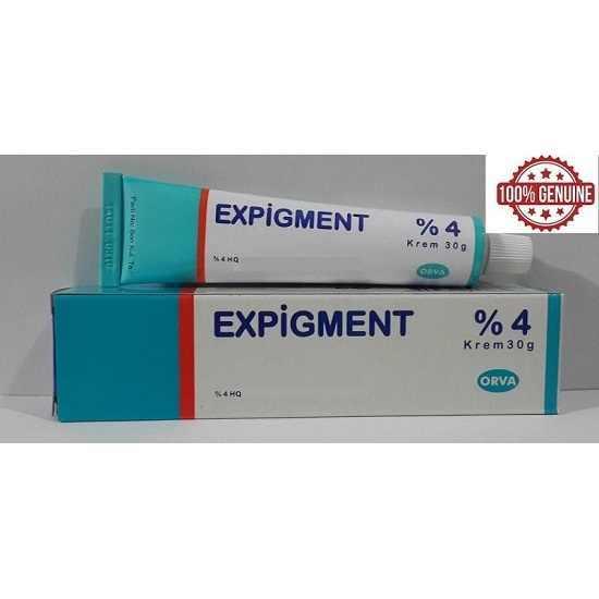 Expigment 30g 1oz hidrokinon 4% krem cilt beyazlatma cilt aydınlatıcı cilt white skin for women and men 2