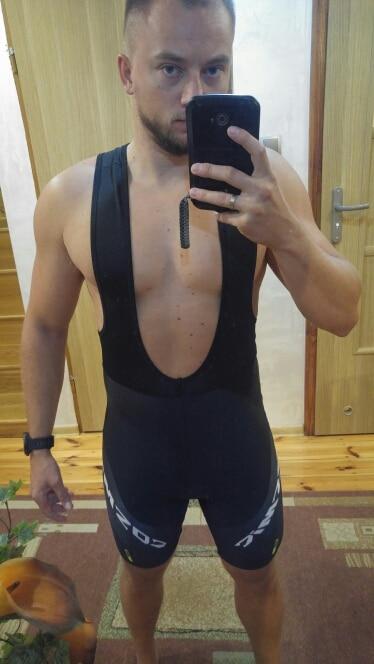 Shorts de ciclismo coolmax gepolsterte tragerhose