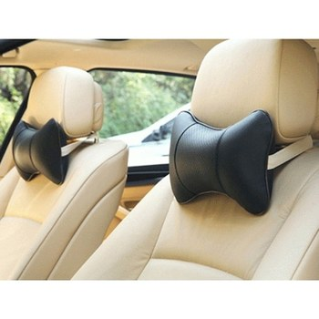 Car Vehicle Neck Pillow Travel Neck Collar Auto Pillow For Travel 25 cm X 16 cm X 10 cm 2 pices inflatable travel neck pillow intex 36 x 30 x 10 cm