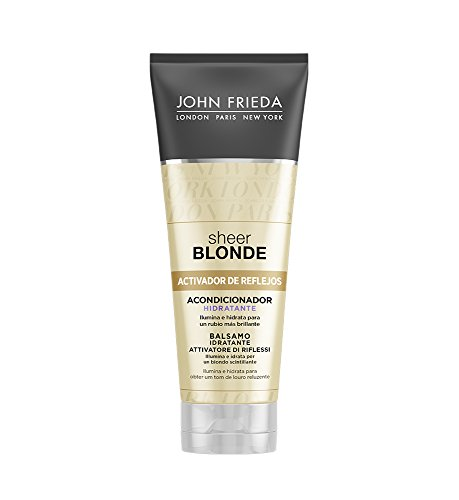 Colour Reviving Conditioner For Blonde Hair Sheer John Frieda (250 Ml)