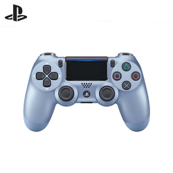 وحدة تحكم الألعاب اللاسلكية التيتانيوم الأزرق (DualShock 4 Cont التيتانيوم الأزرق: CUH-ZCT2E: SCEE)