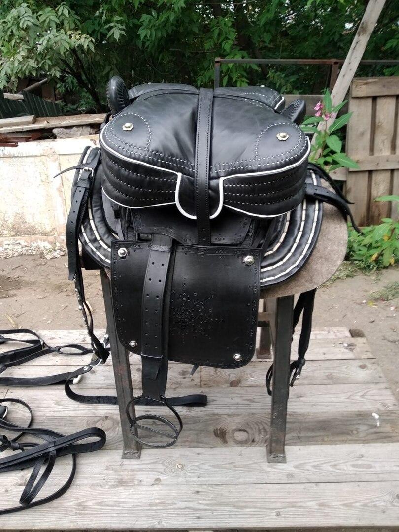 Kabardian Saddle Set With Bridle
