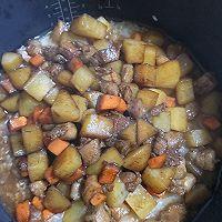 五花肉土豆焖饭的做法图解6