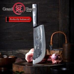 Image 4 - שף סכין קליבר ופר חיתוך בישול כלים בעבודת יד מטבח סכינים מסורתי סיני סגנון פרו חד טבח סכין חדש