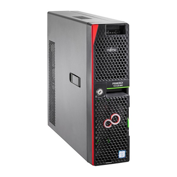 Server Tower Fujitsu Primergy TX1320 Xeon® 4.3 GHz 16 GB RAM 2 TB Black