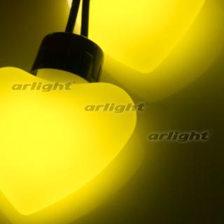 019838 Garland ARL-HEART-5000-20LED Yellow (220V 5W [Closed] Box-1 Pcs ARLIGHT-Светодиодный Decor/Decorative ^ 66