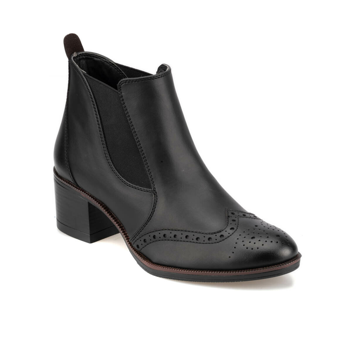 FLO 92.309380.Z Black Women Boots Polaris