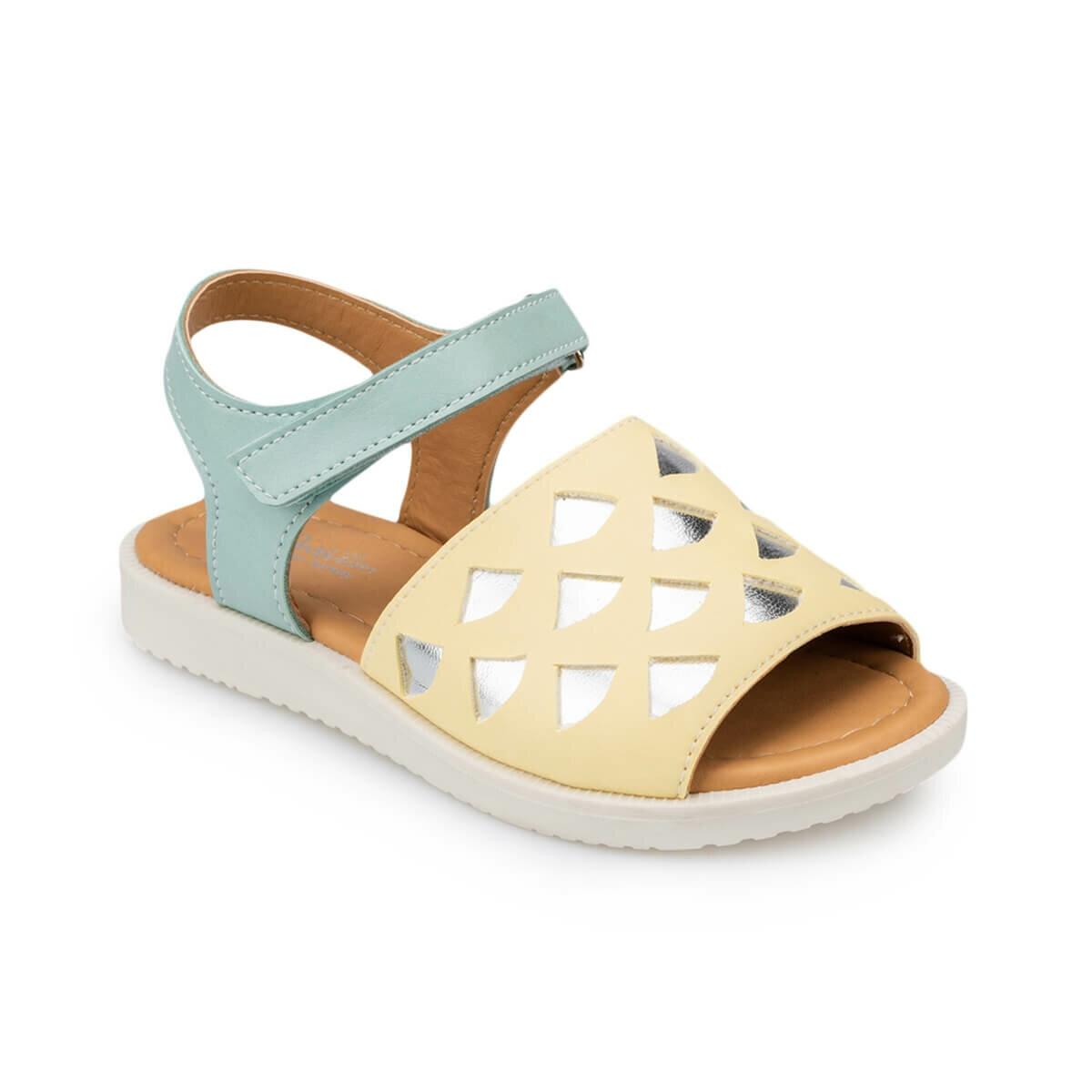 FLO 91. 511184.P Fuchsia Girls Child Sandals Polaris