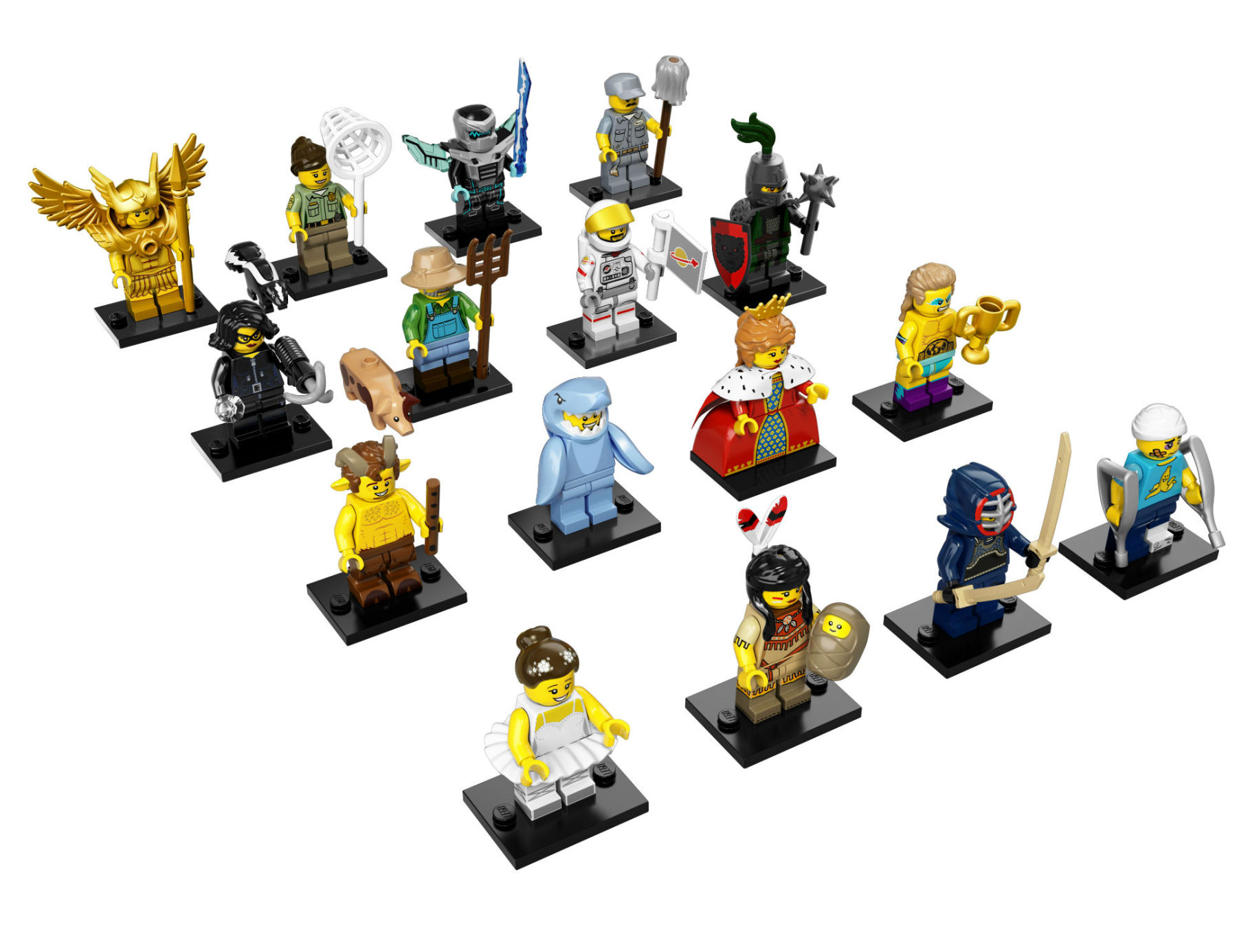 Lego Mini-figures®, Series 15