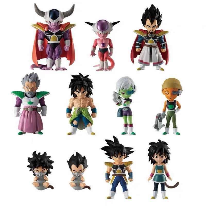 Dragon Ball Broly Adverge Prémio Conjunto Vegeta Vegetto Broly Goku Gogeta Figura PVC Brinquedos Bonecas Figurals