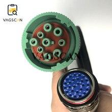 Noord amerika Sluit Kabel 9 Pin Truck Diagnostische Kabel 88890315 Vocom Interface Voor Mack Zware Diagnostisch Hulpmiddel