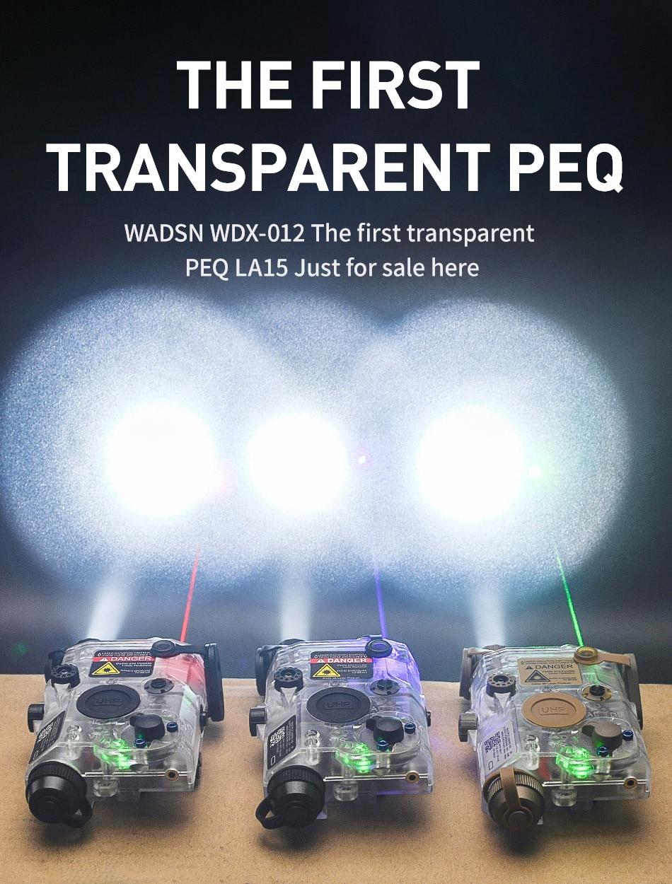 uph aparência ir laser led luz transparente