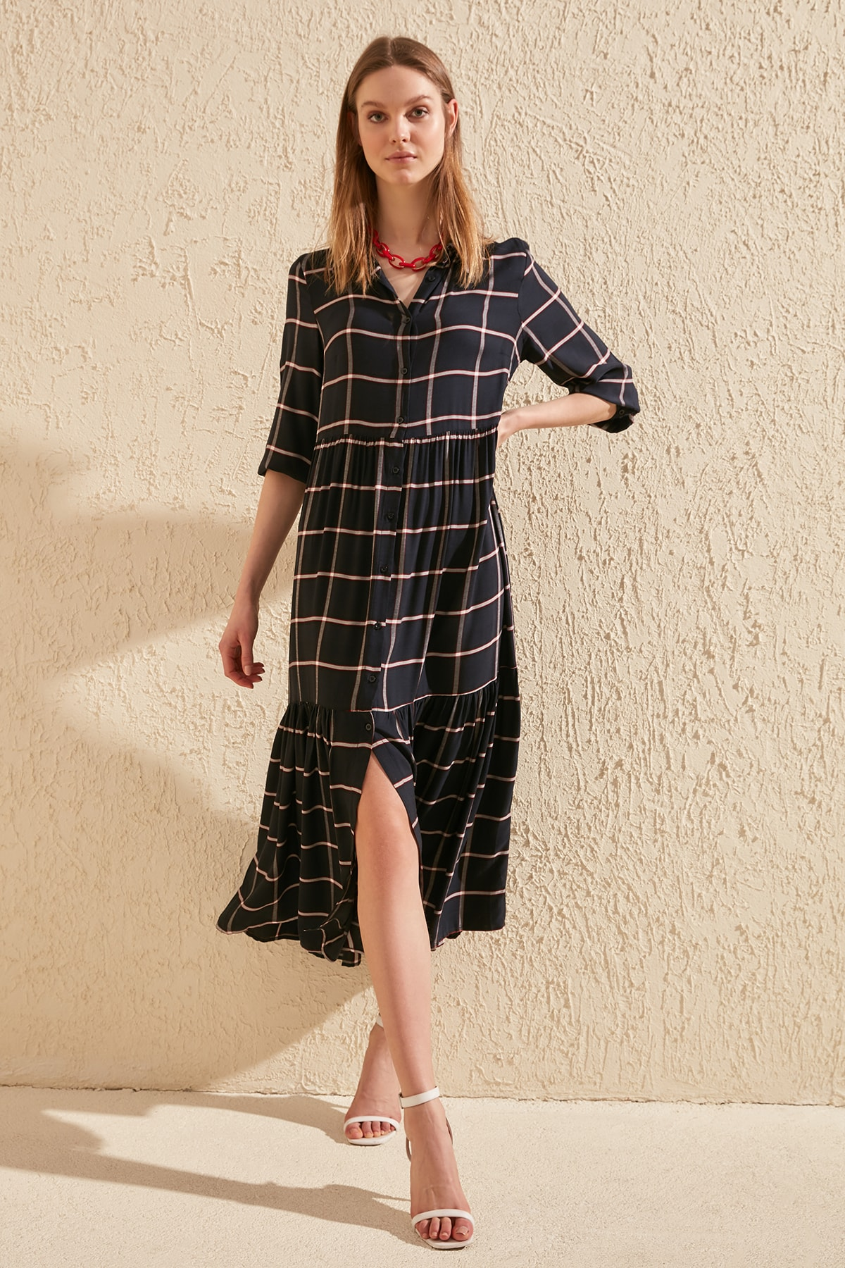 Trendyol Shirt Dress TWOSS20EL0958