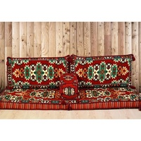 K1 Arabic couch furniture cushion oriental floor sofa Majlis Jalsa Hookah Seating Decor SET Made in Turkey Fast Delivery by DHL