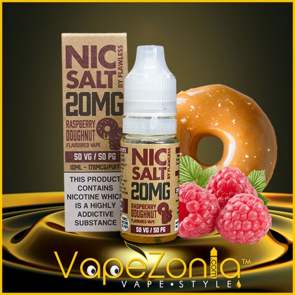 Nic Salt Flawless RASPBERRY DOUGHNUT 10 Ml