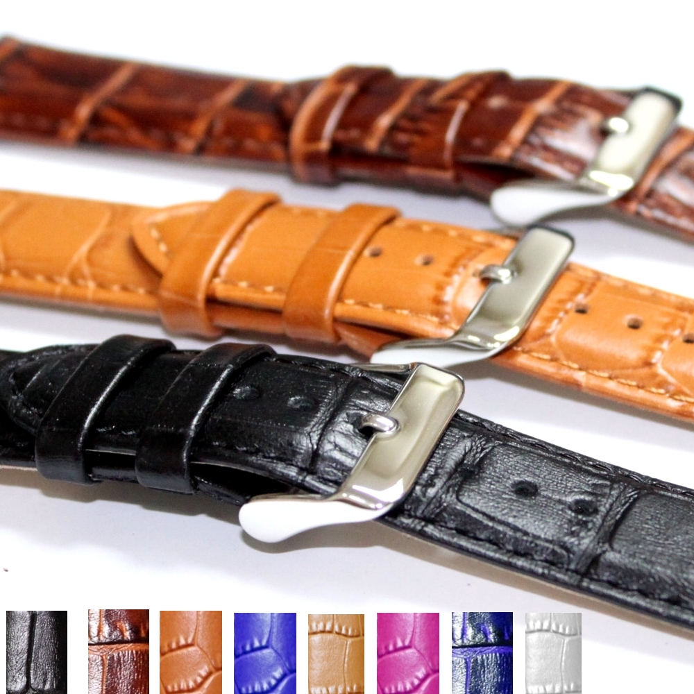 20mm Leather Band WB1036C