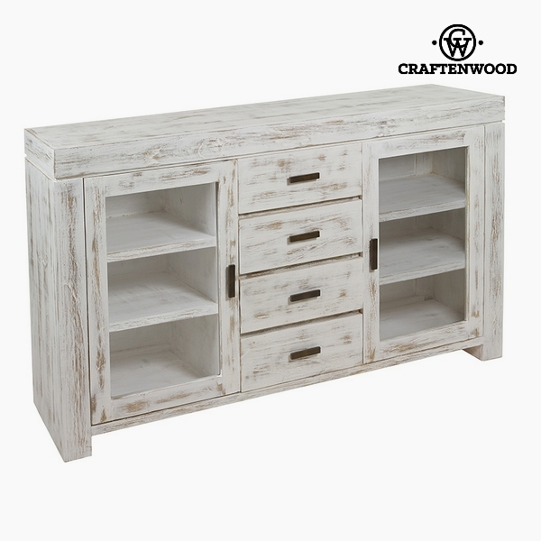 Sideboard Mindi wood (150 x 40 x 87 cm) by Craftenwood|Sideboards| |  - title=