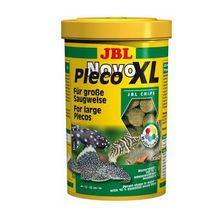 Корм для рыб JBL NovoPleco XL Водорослевые чипсы экстра-большого размера д/кольчужн.сомов,250мл
