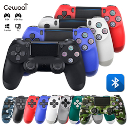 Wireless Bluetooth Gamepad Controller for PS4 Game Controller Vibration Joystick Gamepads for PS 3 Console WIN 7 8 10 PC