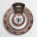 Персонализированные профессиональные технические художники бесконечного Майя календарь деревянные настенные часы-2
