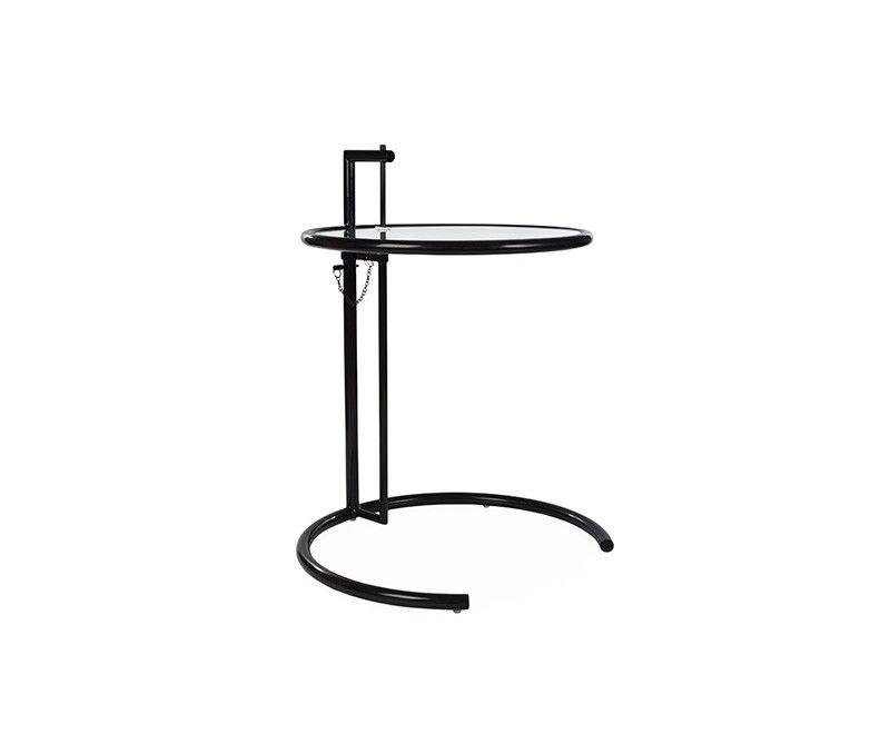 Маленький столик Эйлин серый Регулируемая высота черный версия Ограниченная серия Редкие