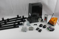 JY 1500ACP Sliding gate operator kit with control unit and 2 remote controls, mounting plate