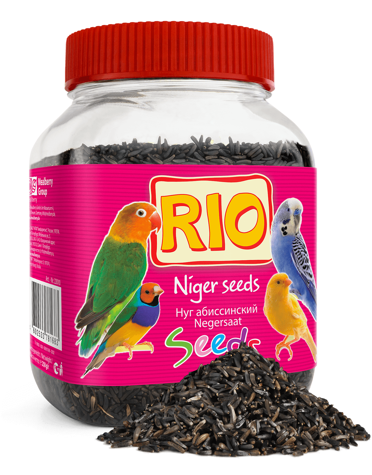 Rio абиссинский нуг (250), Without Characteristics