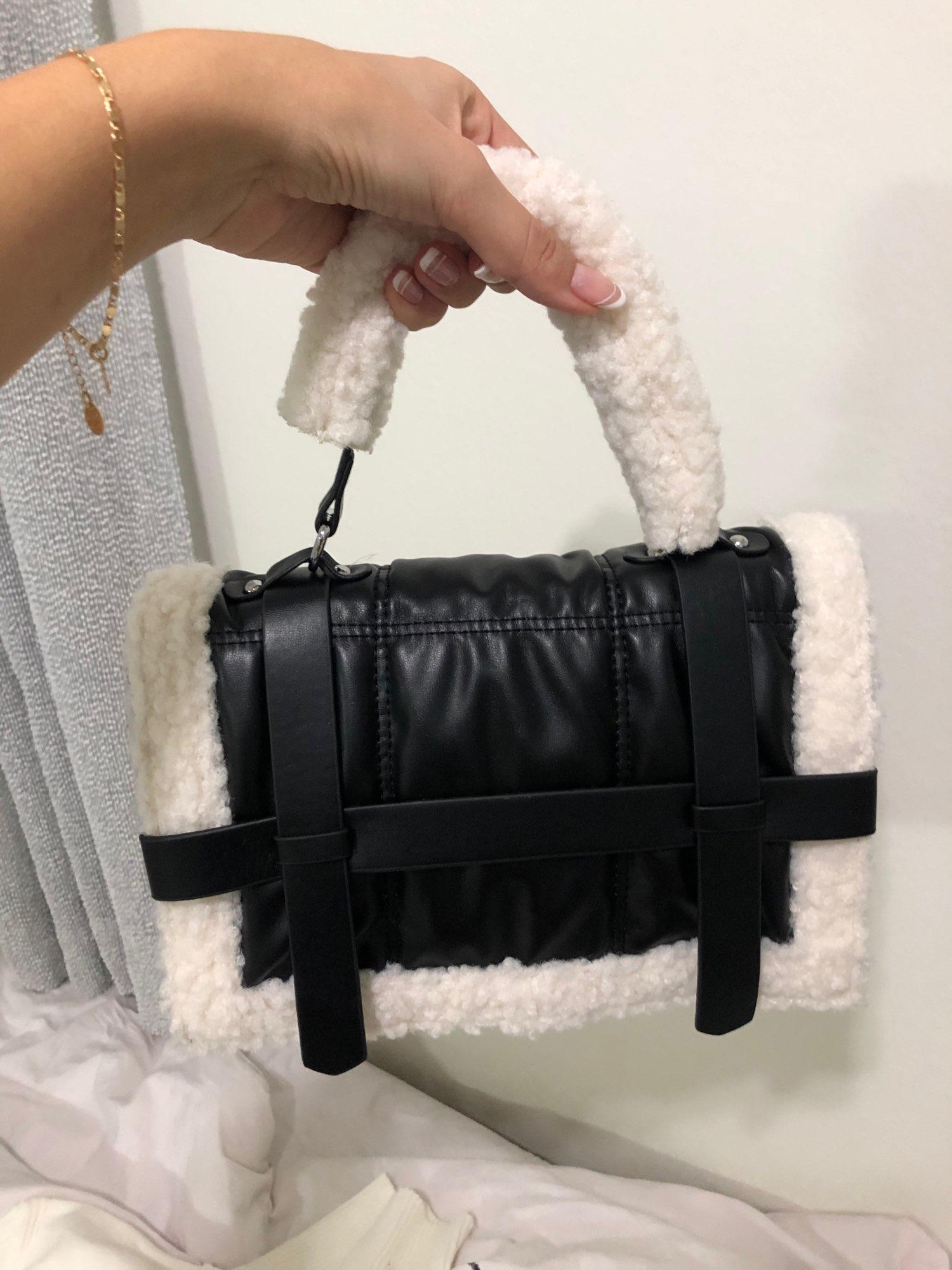 Fashion Plush Tote Women's Handbag photo review