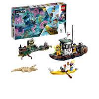Lego ukryta strona 70419 stary statek rybacki zabawki i hobby budowanie i klocki klocki LEGO