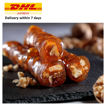 High Quality Walnut Sausage with Molasses Turkish Delight Paste Honey Turkish Dried Fruit Pulp Pistachio with Made in Turkey недорого